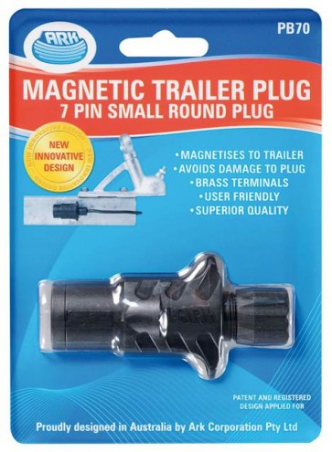 Ark 7 Pin Quick Assembly Small Round Trailer Plug