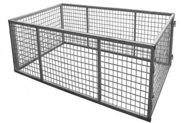6x4 Galvanised Box Trailer Cage - 600mm Height (2ft)