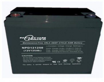 Neuton Power 125AH AGM battery