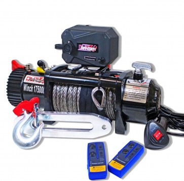 MYTCA 17500 LBS 26M Electric 12V Winch Synthetic Rope & Wireless Remote