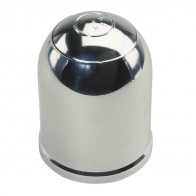Ark Chrome Tow Ball Cover with spring clip