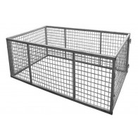 7x4 Galvanised Box Trailer Cage - 600mm Height (2ft)