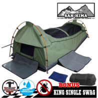 King Single Camping Swag Deluxe