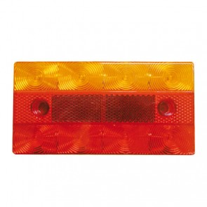 Ark 12V LED Trailer Tail Light Lamp  Submersible, Ultra Slim, Rectangle 150 x 78mm