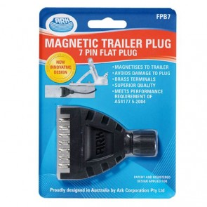 Ark 7 pin flat Magnetic trailer plug