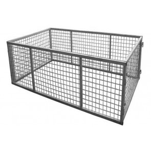 7x4 Galvanised Box Trailer Cage - 900mm Height (3ft)
