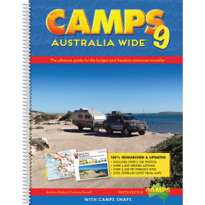 Hema Camps 9 Sprial Bound with Camps Snaps
