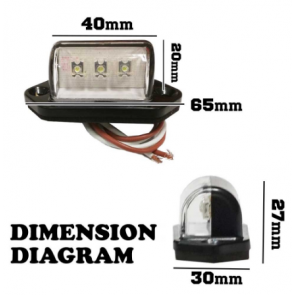 IP 68 Number Plate LED Illumination Light