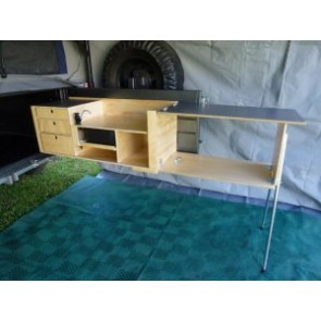Drifta DSO swing out tailgate kitchen