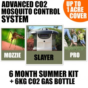 Slayer Pro Mosquito trap - Advanced Co2 mosquito control system - Starter Pack