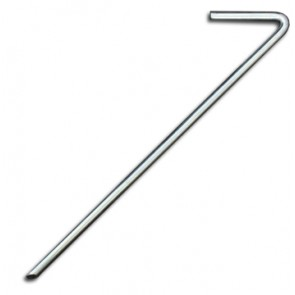Zinc Tent Peg 6 Pack - 8mm x 300mm