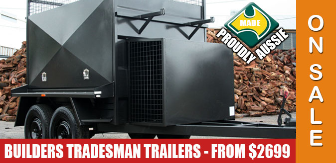 Tradesman & Builders Trailers - Best prices in Canberra