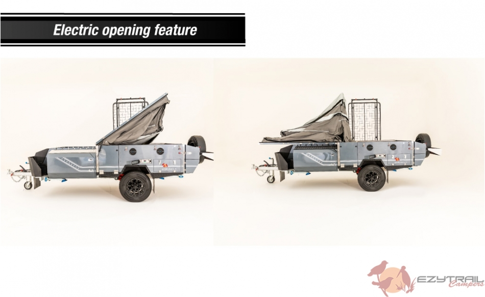 Stirling LX Mark II Electric Opening Camper by Ezytrail