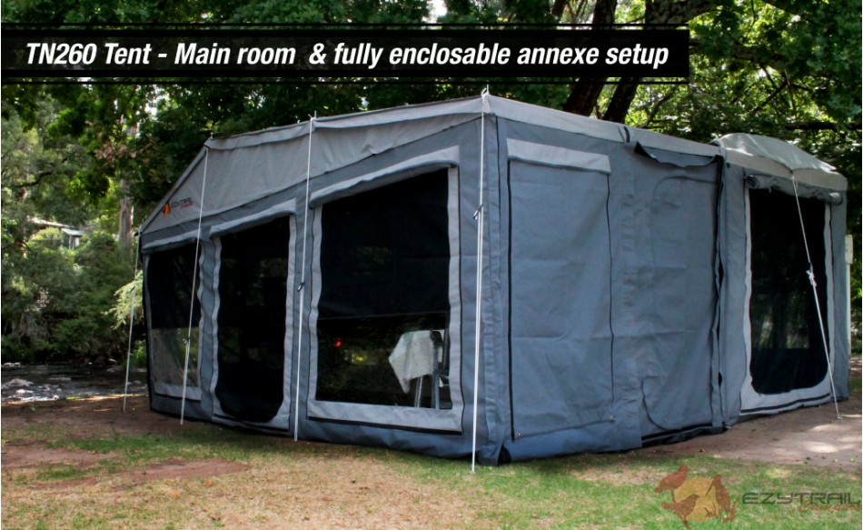 Buckland LX M2 TN260 fully enclosed awning