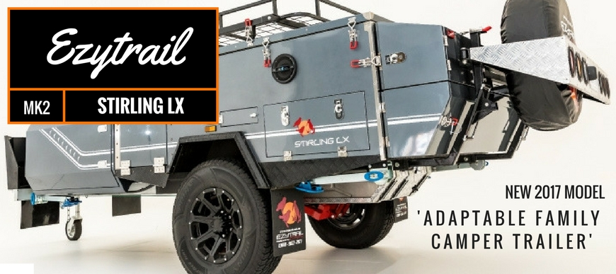 Stirling LX MK2 Family Camper Trailer