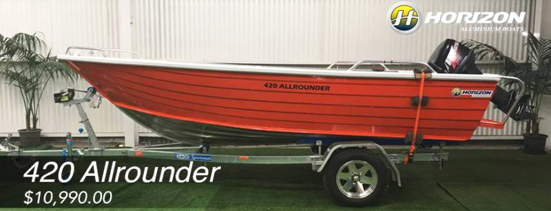 Horizon 420 Allrounder Boat Packages Canberra