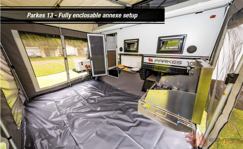Parkes 13 Caravan Fully Enclosable Annexe