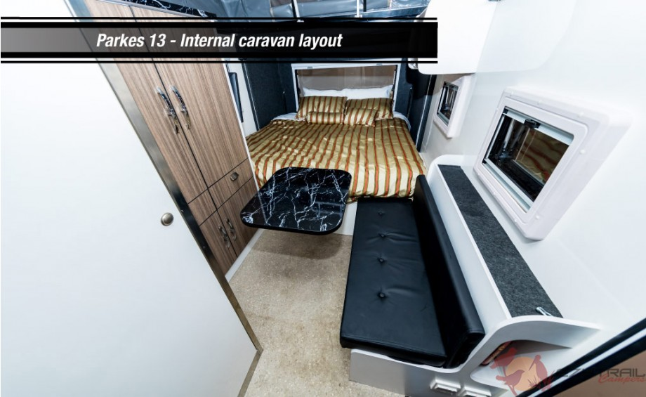 Parkes 13 Internal Caravan Layout