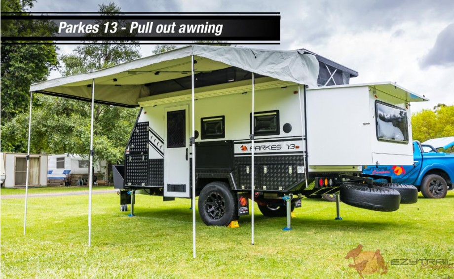 Parkes 13 Canvas awning