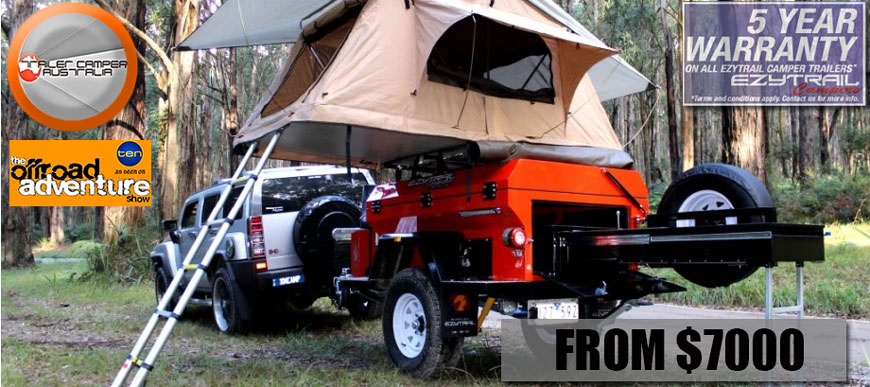 Tough & affordable Camper Trailers