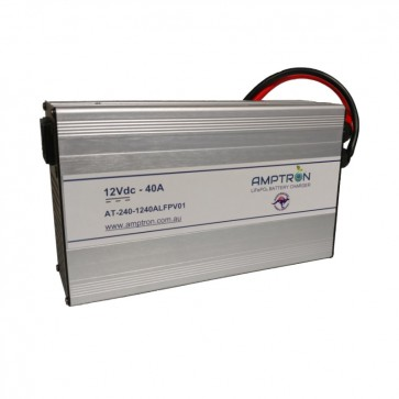 Amptron 40A 12V Lithium LiFePO4 Battery Charger
