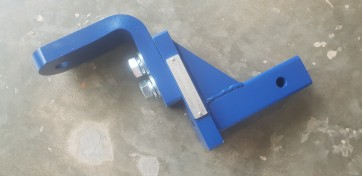 """Lovells 4T Adjustable 7"""" Drop or RIse Hitch  7/8"""" Towball"""