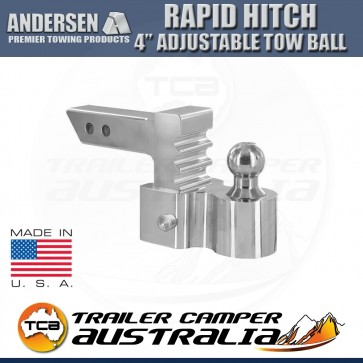 "Andersen 4"" Rapid Hitch Complete Kit - With 50mm Ball"