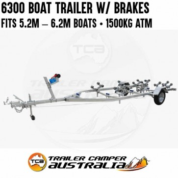 6300 Boat Trailer with Brakes