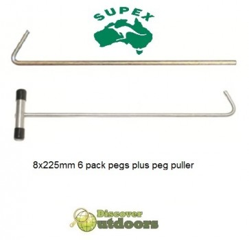 Supex Heavy Duty Tent Peg Puller