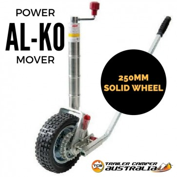 "Remote Starter Cost >> Alko 10"" Power Mover Jockey Wheel"
