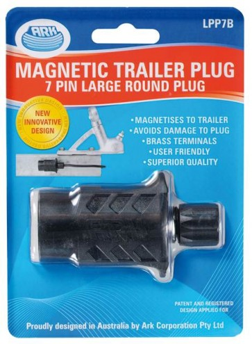 Ark 7 Pin Quick Assembly Large Round Trailer Plug