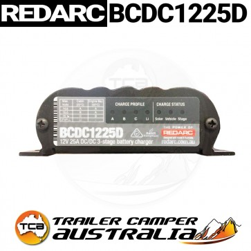 Redarc Dual battery DC to DC Charger 25a BCDC1225D