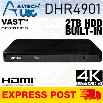 Altech UEC DHR4901 2TB Multi Channel PVR VAST TV Satellite Receiver Decoder Box