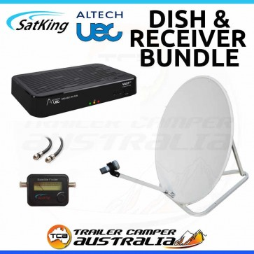 Portable Dish kit with Vast TV Receiver DSD4921RV