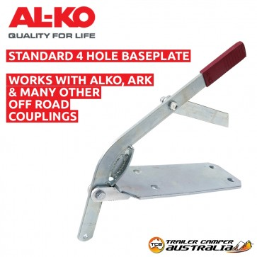 Alko Brake Lever &  Base Plate 4 Hole