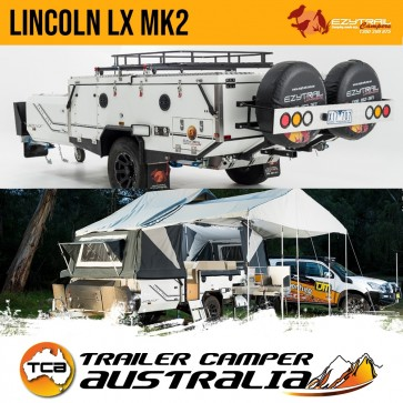 Ezytrail Lincoln LX MK2 Off Road Hard Floor Camper Trailer