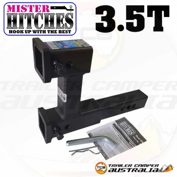 MISTER HITCHES Dual Receiver Multi-Use Hitch 3.5T