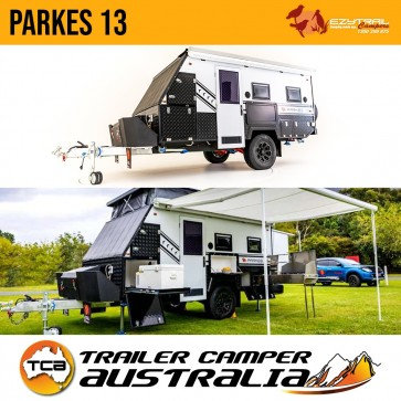 Ezytrail Parkes 13 Hybrid Pop Top Caravan 13ft Off-Road Trailer