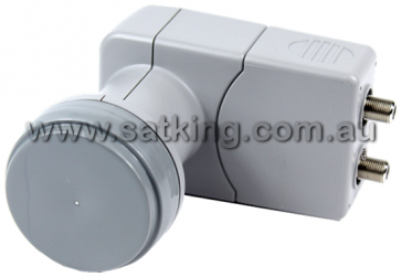 Satking Dual Output 10700 Wide Band LNB for Satellite TV