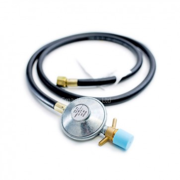 Gas Hose & Regulator 1.5 Meters