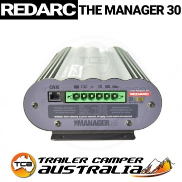 REDARC The Manager30 BMS1230S2 AC DC Solar Inputs 12v Battery Charger