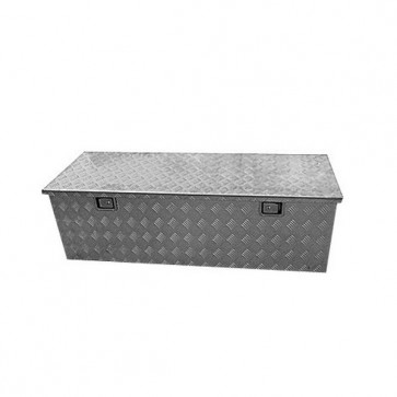 STB XL Lockable Aluminium Tool Box 1450 x 520 x 460mm - Camper Box Trailer