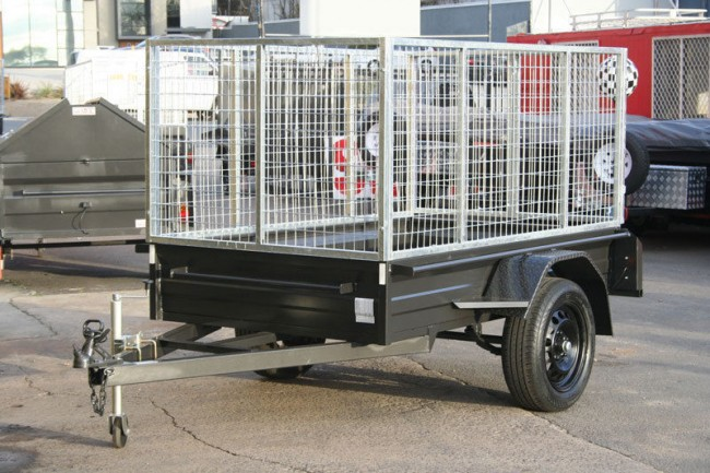 7x4 Heavy Duty Box Trailer Low Sides 300mm Sides Amp 900mm
