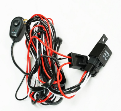 Surprising Heavy Duty Led Light Bar Wiring Loom Harness 40A Switch Relay Wiring Digital Resources Indicompassionincorg