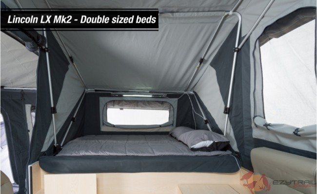 Ezytrail Lincoln LX MK2 Beds