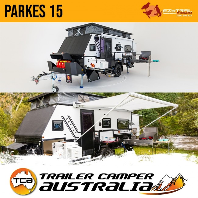 Ezytrail Parkes 15 Off Road Caravan 4 Berth Family Caravan