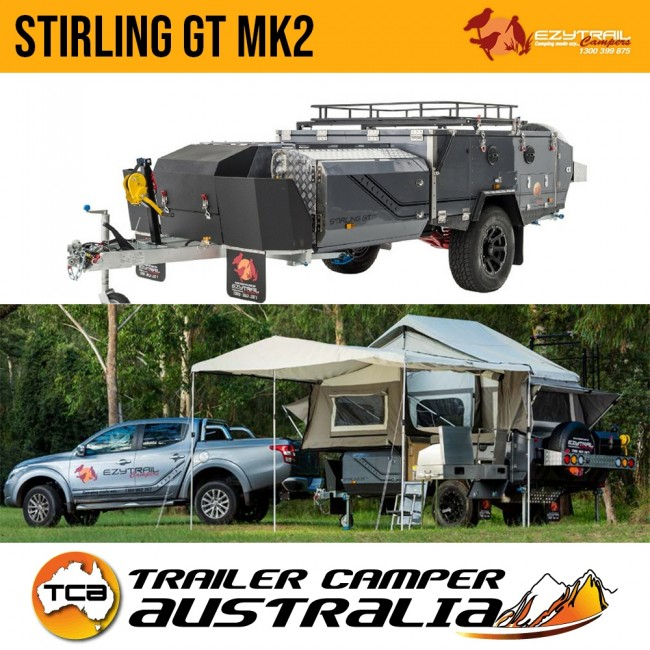 the all new stirling gt mk2 off road hard floor camper trailer byezytrail stirling gt mk2 off road hard floor camper trailer