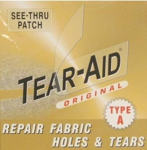 Tear Aid Type A 5ft Roll Fabric Repair Kit