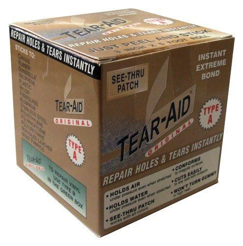 Tear Aid Type A 3m Roll Fabric Repair Kit