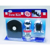 Ark Chrome Tow kit - Shin protector, 3.5t 50mm tow ball & tow ball cover